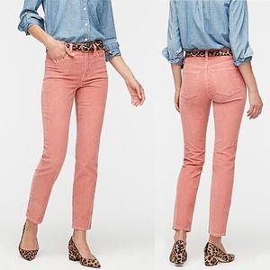 J. Crew High Rise Vintage Straight Corduroy Pants